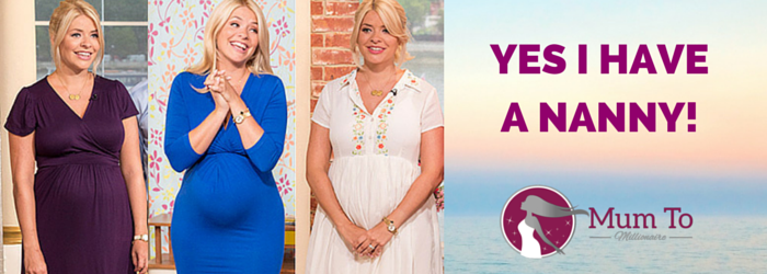 Presenter Holly Willoughby 'Yes I have a nanny!'