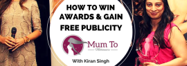 How to win awards and gain free publicity