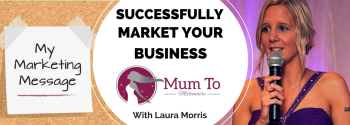 Laura Morris networking mummies educate business