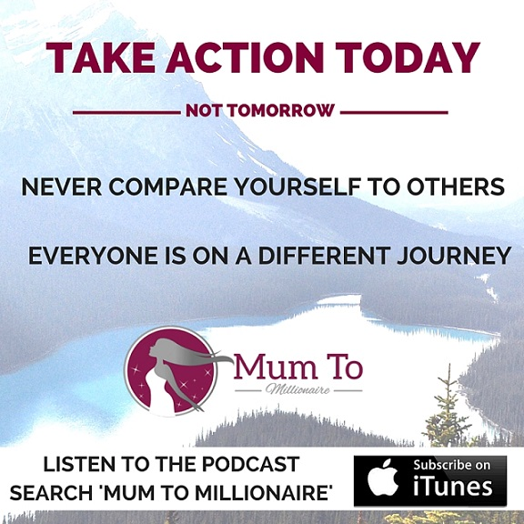 mum to millionaire podcast for mumpreneurs