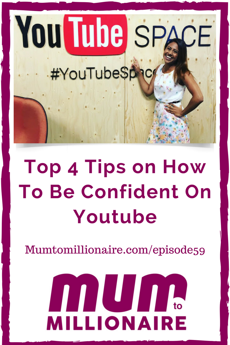 how to be confident on youtube